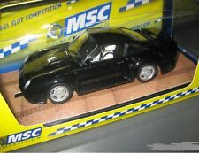 OFERTA MSC  6023 Porsche 959 Street car black MB NUEVO 1/32