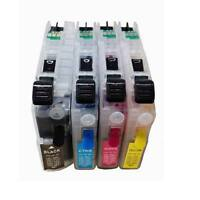 Combo Set Refillable Ink Cartridge for Brother J680DW J880DW J885DW LC203 LC-203