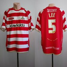 Football shirt soccer Doncaster Rovers Donny Home 2006-2007 Carlotti Lee #5 XL