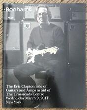 Eric Clapton Auction Catalog, Guitars, Bonhams 2011, Crossroads