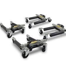 4 PKW Hydraulische Rangierhilfen inkl. Wagenheber Auto Rangierheber bis 680Kg