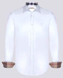 Camicia Burberry Brit Bianco 100% Originale