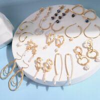 or de boucles d'oreilles perle d'eau douce oreille étalon géométrie irrégulière