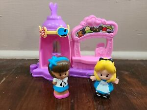Fisher Price Little People Magic of Disney Alice's Mad Hatter Shop