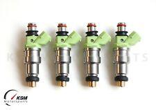 4x 800cc fit Denso Sard fuel injectors for CA18DE/T 200SX 4G63 EVO1-9 RX7 FC3S
