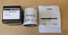 MGF MGTF K SERIES OIL FILTER  LPW100181 & SUMP WASHER ALU1403 New MG ROVER PARTS