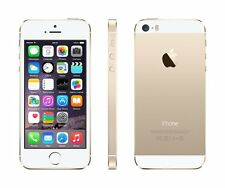 1x iPhone 5s Apple - Factory Unlocked SIM Free Smartphone Mobile Phone Gold 16GB