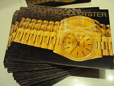 YOUR ROLEX OYSTER LIBRETTO BOOKLET 2000-1999-98-97-96-95 -94 -93 -92 -91 -90 -89