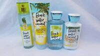 Bath & Body Works BEACH WATER COCONUT MIST CREAM SHOWER GEL LOTION You Choose
