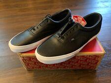 Vans Era Perf Leather Black True White VN-018FDJ6 Men's Size 12