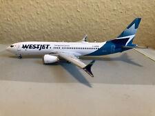 GeminiJets G2WJA783 Westjet Boeing B737 MAX-8 (new livery) - C-GZSG, 1:200