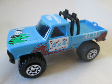 1981 Matchbox Mini-Pickup Mountain Man 4 x 4 Cibie Truck #57 HK (1:67 Blue)