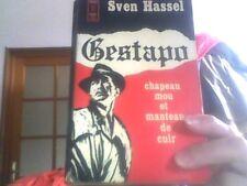 Sven Hassel pour Gestapo chapeau mou et manteau de cuir