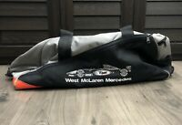 West McLaren Mercedes F1 Racing Duffle Bag Formula One Vintage