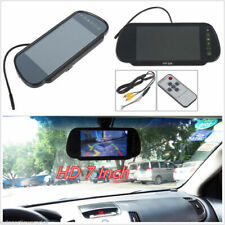 "7""HD Color Car Reverse Rear View Backup Camera DVD Mirror Monitor+ Remote &"