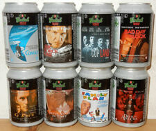 GROLSCH 8 cans MOVIE POSTERS  set from HOLLAND (33cl)