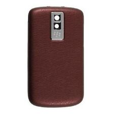 New Oem BlackBerry Leather Battery Door Cover for BlackBerry Bold 9000 - Red