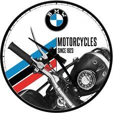 BMW - Wanduhr Original Uhr Retro Werkstatt Shop Service Schild Bike Motorrad