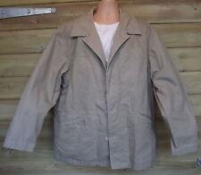 Timberland Weathergear Light Khaki Stone Cotton Field Jacket - XL - c2004