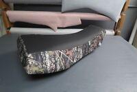 Arctic Cat 400 500 650 02-04 Black Top Camo ATV Seat Cover #nw64mik63
