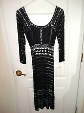 A.B.S. Collection by Allen Schwartz Ladies Knit Dress Size Small Black