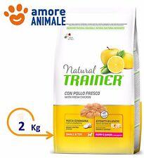 Trainer Natural Puppy Junior Mini 2 kg Pollo per Cane Taglia Piccola  Crocchette