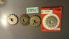 4 Suzuki DL1000 V-Strom DL 1000 2005 Front Sprockets both 16 17 tooth