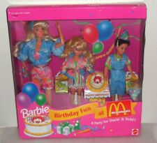 Barbie Birthday Fun at McDonald's - A party for Stacie & Todd  World SHIP $24