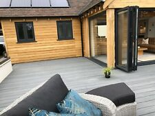 Finch Composite WPC Decking Boards Wood Effect Individual sample Postage FOC