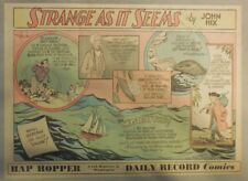 Strange As It Seems: Golf. Mystery Ship, Dolphins by Hix from 1951