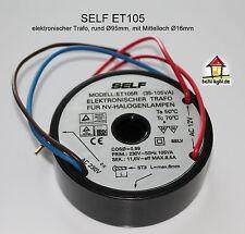 Self ET-105R (SET105R) runder elektronischer Halogentrafo 12V 105W Mittelloch