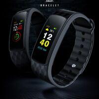 Bluetooth Smart Watch Heart Rate Sport Monitor Fitness Tracker Bracelet Watch