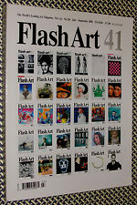 FLASH ART Magazine, ARCHIVE ISSUE, Koons, Hirst, Deitch, Salle, Fluxus