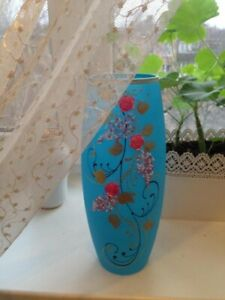 Vase decorative for dry plants and colors