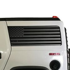 USA Flag Decals - Fits Hummer H2 2002-2009 American Side Window  QR1-HH2