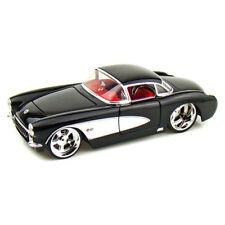 1957 Chevrolet Corvette 1:34 Scale Die-Cast Car by Kinsmart (Black)