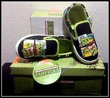 BRAND NEW ORIGINAL Teenage Mutant Ninja Turtles Toddler Slip On Shoes 10 FreeS&H