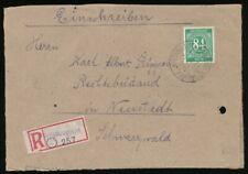 289405) all. Bes. Ziffern R-Blg. aus Winterstein  nach Neustadt Schwarzwald
