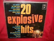 20 Explosive Hits Various LP 1968 AUSTRALIA EX Axiom Master's Apprentices Psych