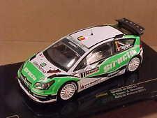 Ixo 1/43 Diecast Citroen C4 WRC, 2011 Wallonia Rally, Structo #1  #RAM508