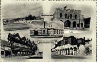 Southampton Hampshire England AK ~1950/60 Royal Pier Mehrbildkarte Bargate Wall