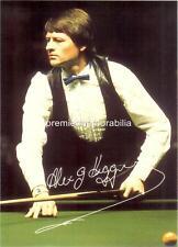Snooker legend Alex Higgins Signed Re-Print