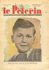 Portrait Jeune Garçon Ecolier Young Boy Schoolboy France 1937 ILLUSTRATION