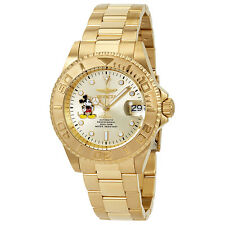 Invicta 'Disney Limited Automatic Champagne Dial Mens Watch 22779