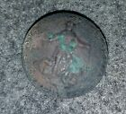 "Civil War Confederate Virginia Coat Button 22mm ""Mitchell & Tyler Richmond"" VA 7"