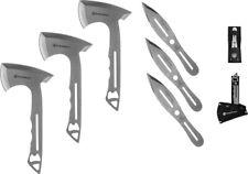 1122228 - Jeu de 3 Haches à Lancer + 3 Couteaux SMITH & WESSON Throwing Combo