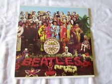 "The Beatles ""Sgt. Pepper"" Capitol SMAS-2653 1983 Reissue Black Label Colorband"