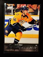 Kevin Fiala 2015-16 Upper Deck Young Guns Rookie card #208 YG RC