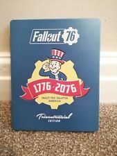 Fallout 76 Tricentennial Steelbook Edition PlayStation 4 Rare Case Only No Game
