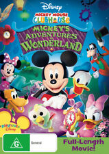 Mickey Mouse Clubhouse Mickey's Adventures In Wonderland New DVD Mickeys R4